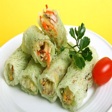 VEGETABLE ROLL  网中素菜
