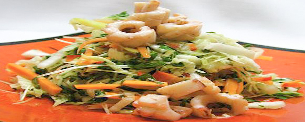 Vietnamese Squid Salad